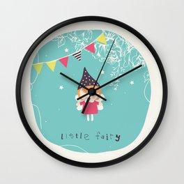 Little Fairy Wall Clock