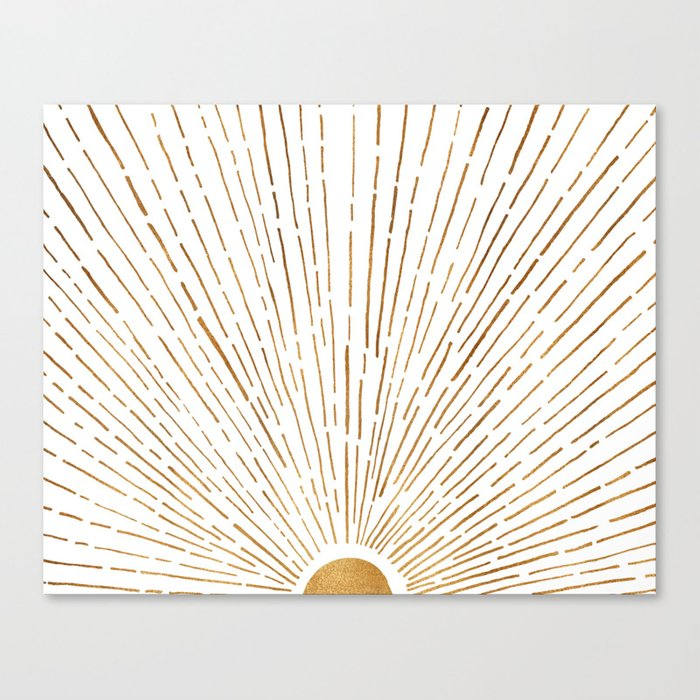 Let The Sunshine In Canvas Print
