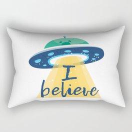 I believe (UFO) Rectangular Pillow