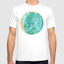 Blue Fantasy Planet T-shirt