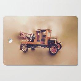 Vintage Model T Wrecker Cutting Board