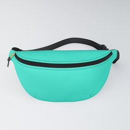 Aqua Gift Box Solid Summer Party Color Fanny Pack
