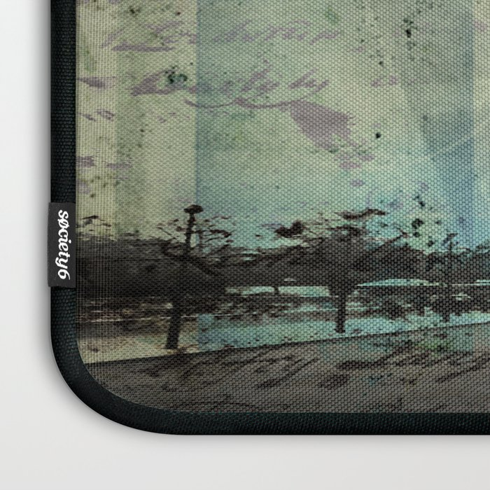With Love From Paris Laptop Sleeve