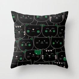 Adorable Cats 1 Throw Pillow