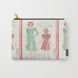 Retro Chic Carry-All Pouch