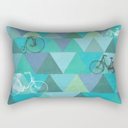 Tour de'Triangle Rectangular Pillow