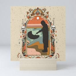 """Mandalorian"" by Cassidy Rae Marietta Mini Art Print"