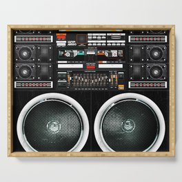 Boombox Ghetto J1 Serving Tray