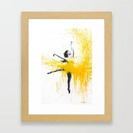 Sunflower Dance Framed Art Print