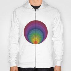 Rainbow circles Hoody