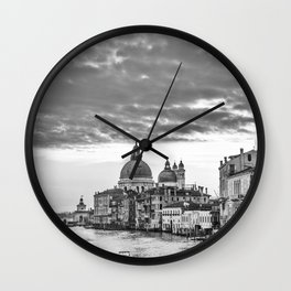 A view of Venice from the Accademia Bridge Wall Clock
