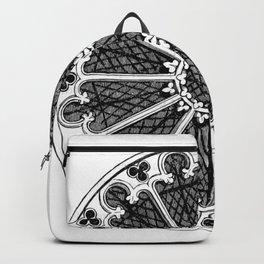 Rose window Backpack