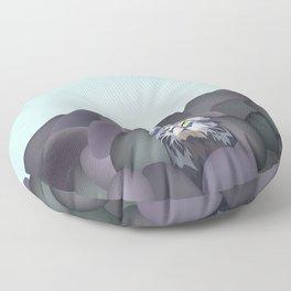 Pallas' Cat Floor Pillow