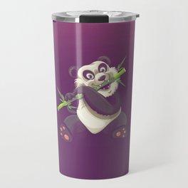 Panda and Bamboo Travel Mug