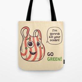 No to plastic bags! Tote Bag