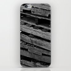 Abstract Wooden Pallets iPhone & iPod Skin