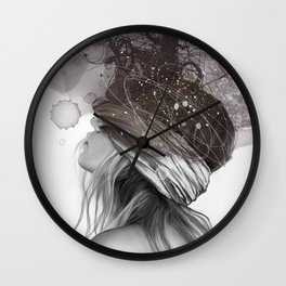 Head's full Wall Clock