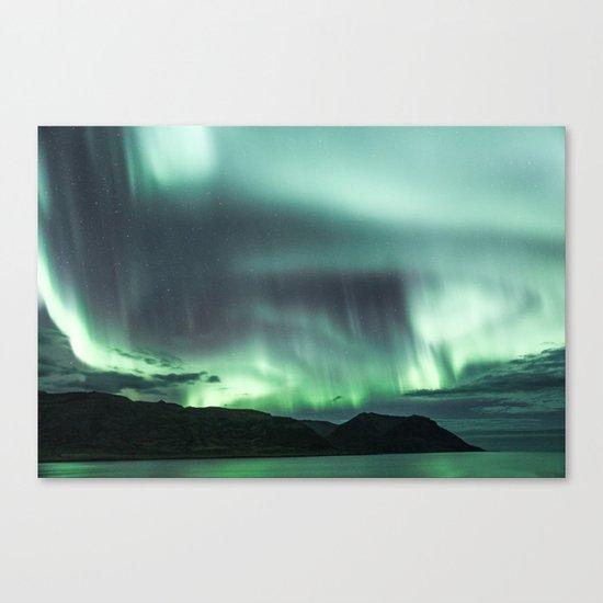 Borgarfjörður, Iceland Canvas Print