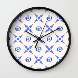 Vintage Delftware Wall Clock