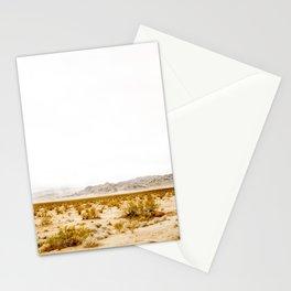 -hot desert- Stationery Cards