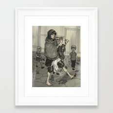 The Piper Colors Framed Art Print