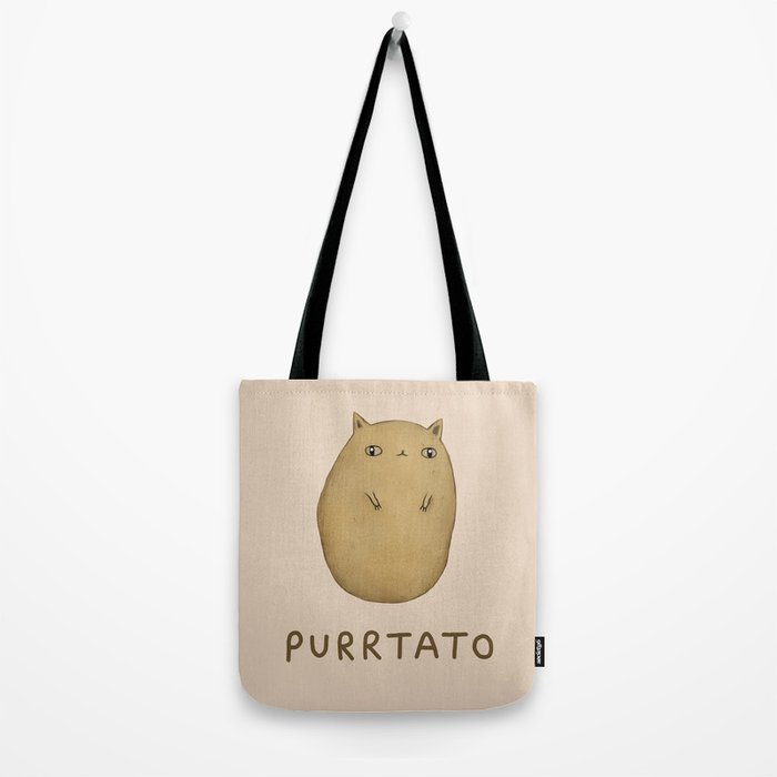 Purrtato Tote Bag