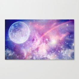 Pastel Celestial Skies Canvas Print