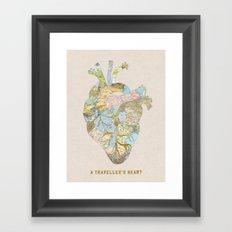 A Traveller's Heart (UK) Framed Art Print