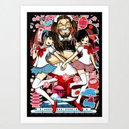 LADYBABY Fan Club Art Print