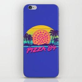Pizza '84 iPhone Skin