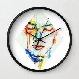 Lacrime d'arcobaleno Wall Clock