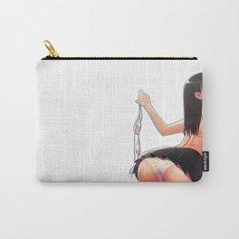 Cute Topless Upskirt Hentai Girl Ultra HD Carry-All Pouch