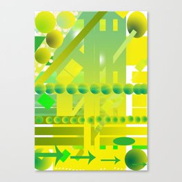 geometric forms Canvas Print