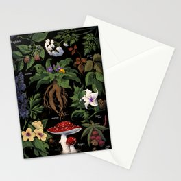 Poison Plants Stationery Cards