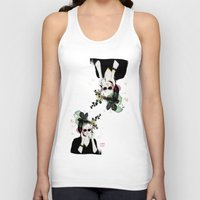 sunglasses Tank Tops featuring Sunglasses by Lorene R illustration