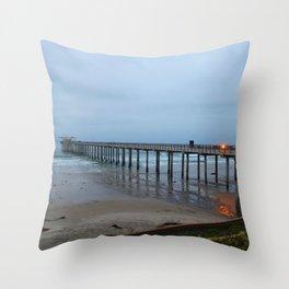 Scripps Pier 2 Throw Pillow