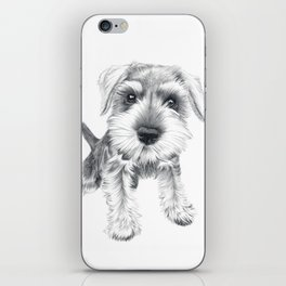 Schnozz the Schnauzer iPhone Skin