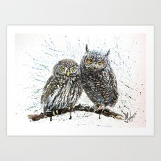 little owl's Art Print