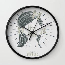 Feel Good! Wall Clock