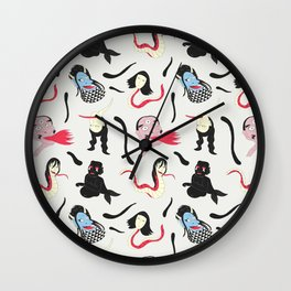 Japanese Monsters Wall Clock