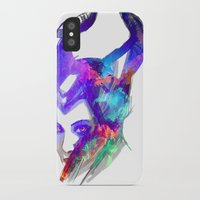 maleficent iPhone & iPod Cases featuring Maleficent by Ryky