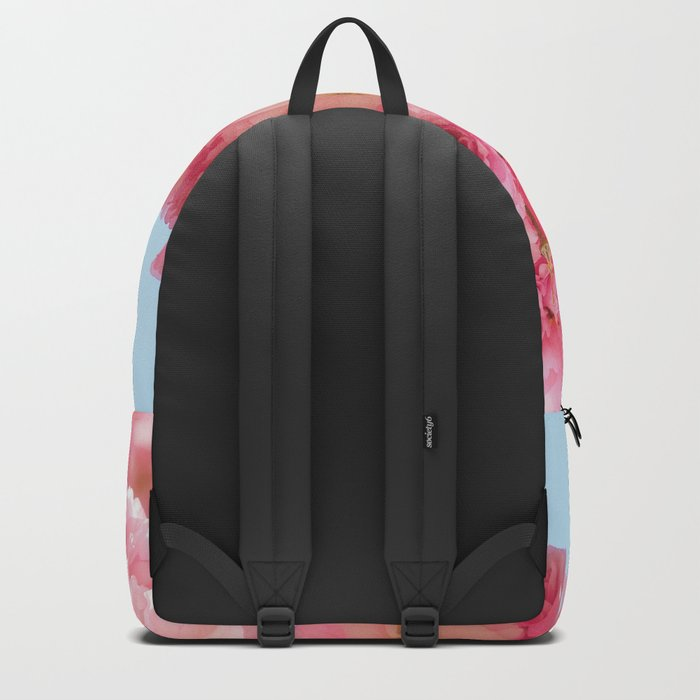 Cherry Blossoms in Pink Backpack