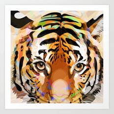 Tiger Mix #3 Art Print