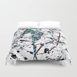 Mint Chocolate Chip Duvet Cover