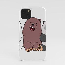 3 Bears iPhone Case