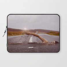 Swimmer in the Road Laptop Sleeve