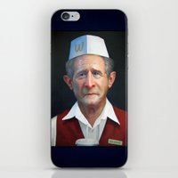 fries iPhone & iPod Skins featuring Freedom Fries by Jaime Margary
