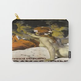 Vintage poster - Aramos Pinto Carry-All Pouch