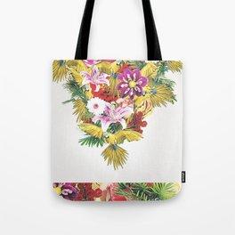 Parrot Floral Tote Bag