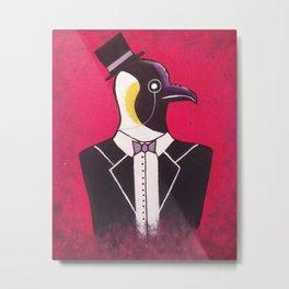 The Penguin Metal Print